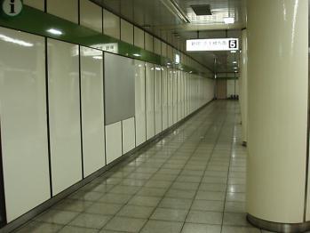 九段下駅新宿線ホーム市ヶ谷寄り