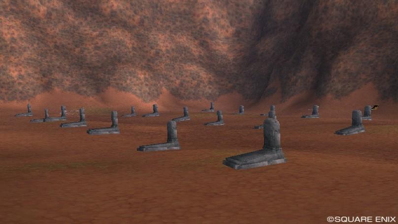 オルセコ高地北の墓地