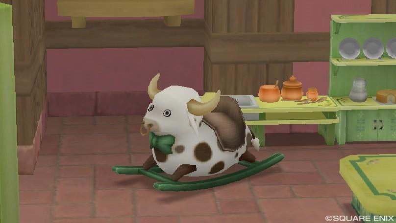 ゆらゆら牛さん