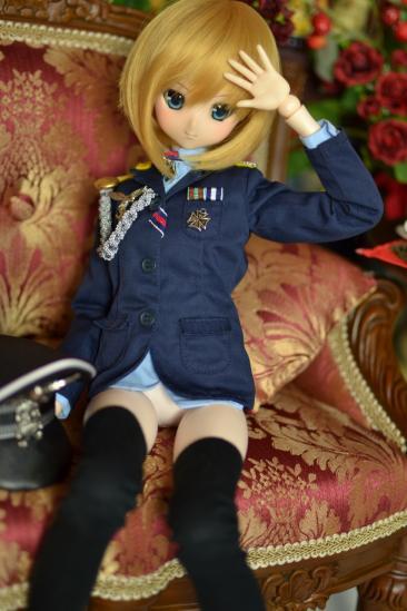 オビツ50エーリカ・ハルトマン中尉ー2