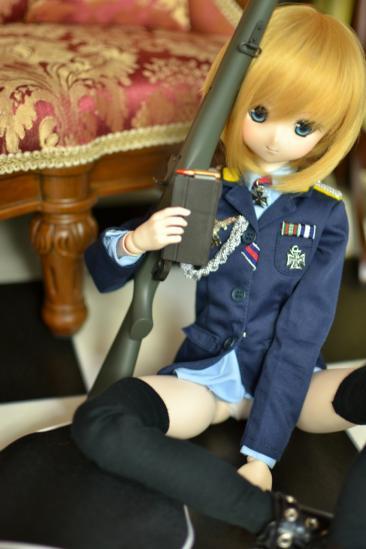 オビツ50エーリカ・ハルトマン中尉ー4