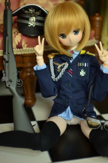 オビツ50エーリカ・ハルトマン中尉ー5