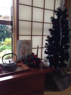 クリスマス和室