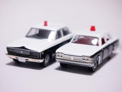 クラウンパトカー フロント比較