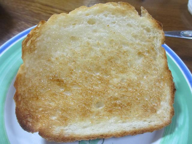 トーストに