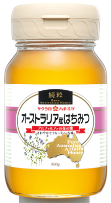 オーストラリア産ハチミツ800_0001