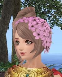 桜の髪飾り01