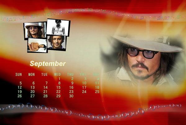 ジョニーカレンダー2011年9月ブログ用