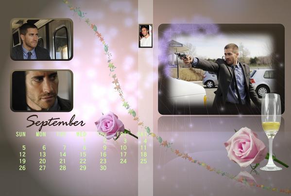 ジェイクカレンダー2011年9月用ブログ用