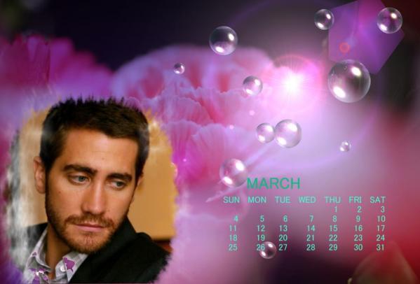 2012年3月ジェイクカレンダー2