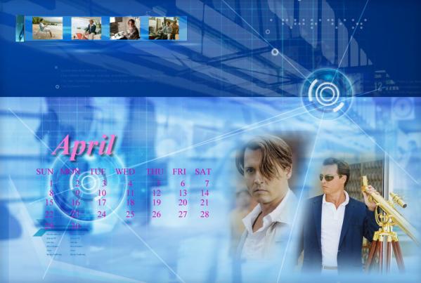 ジョニーカレンダー2012年4月用2