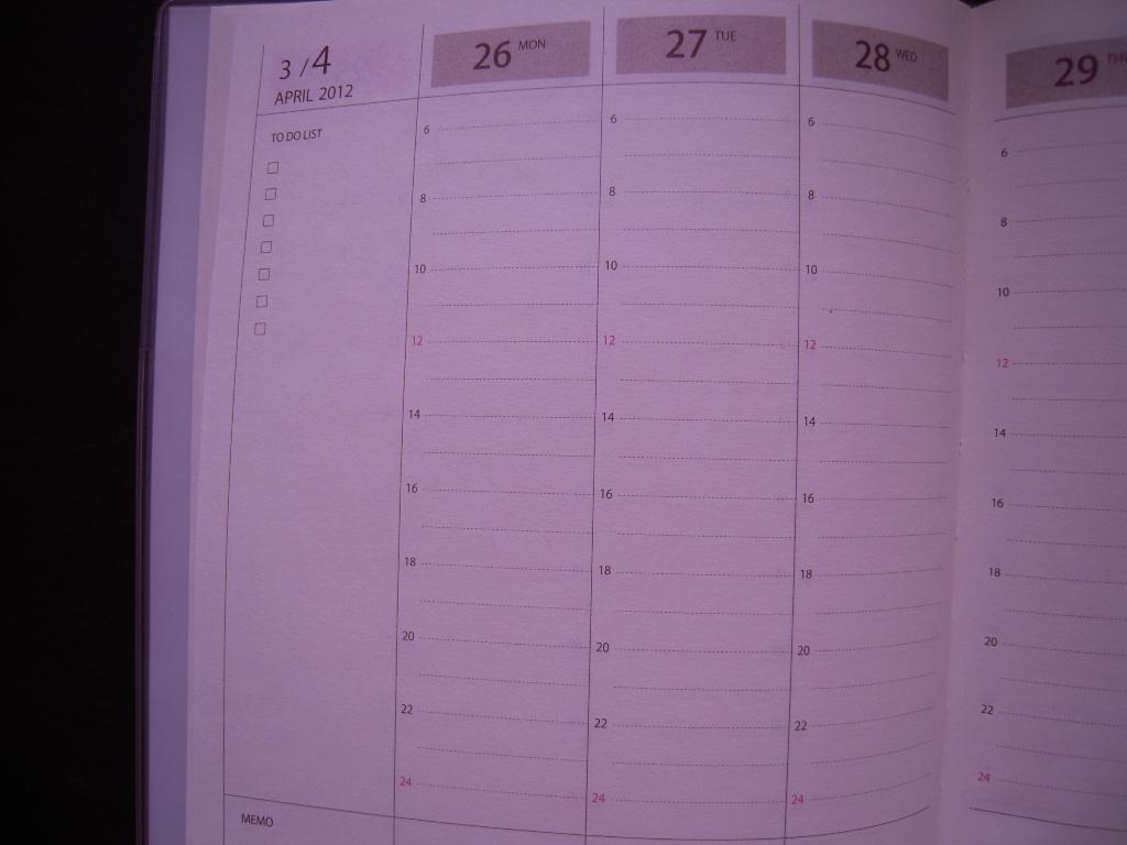 セリアの手帳☆ 3