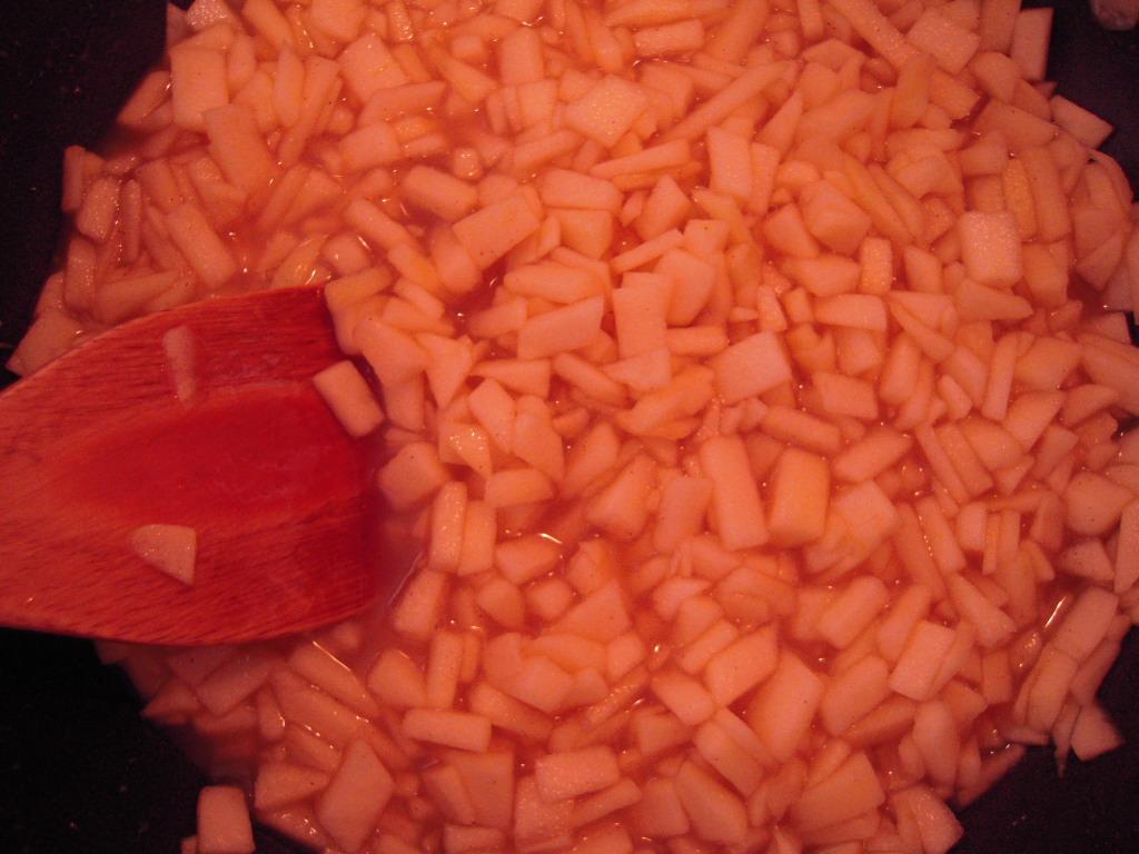 りんごジャム作り☆ 2