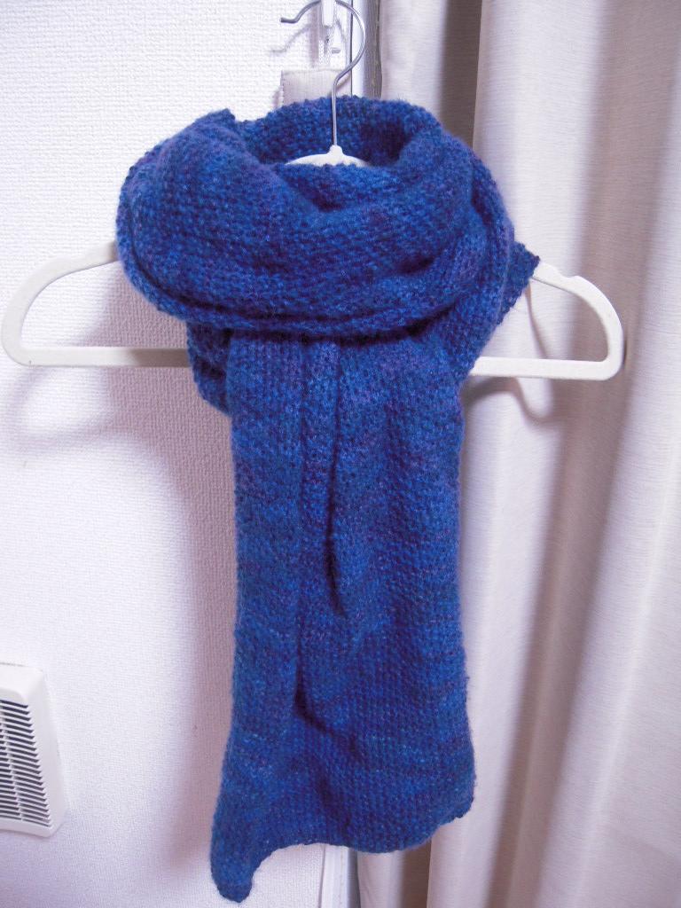 手編みのマフラー☆ 1