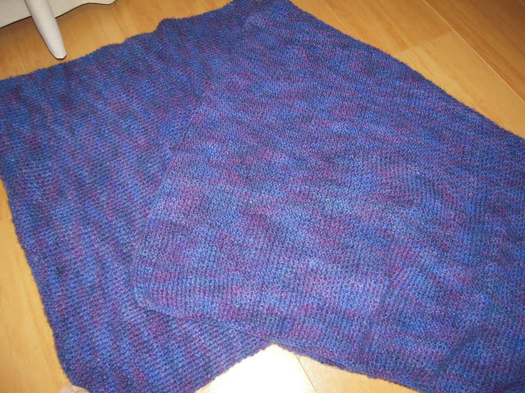 手編みのマフラー☆ 2