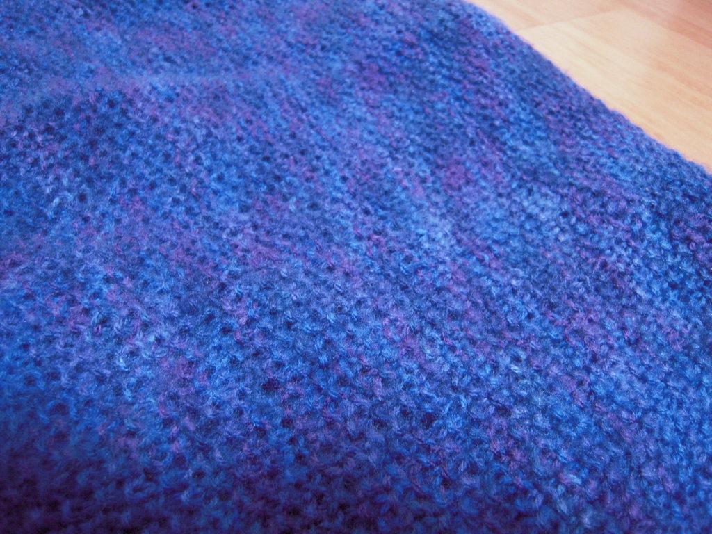 手編みのマフラー☆ 3