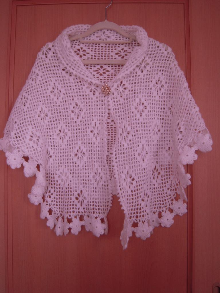 手編みのポンチョ☆ 1