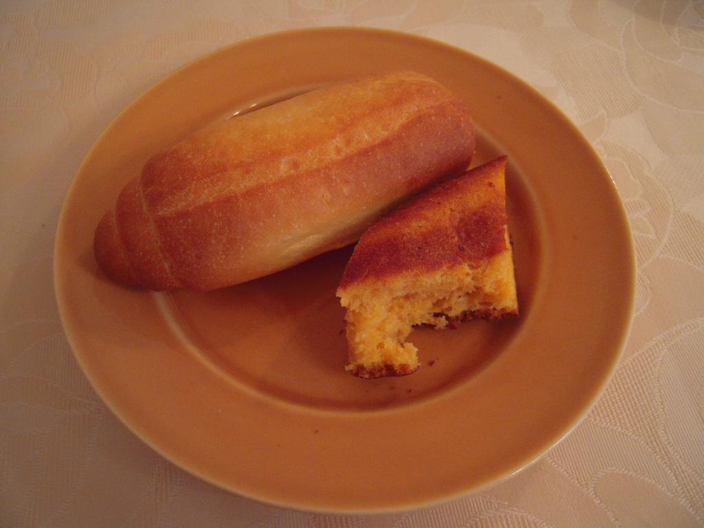 チーズと米粉のパン☆