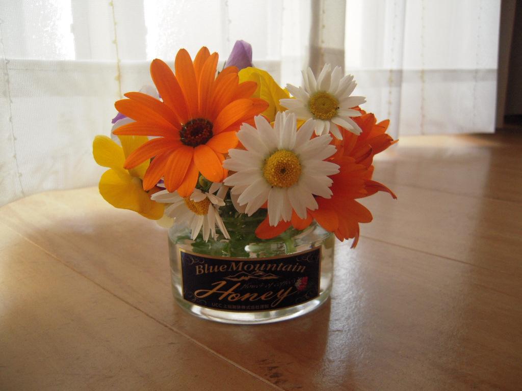 リビングのお花☆