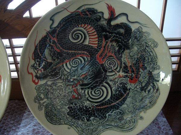 龍のお皿吽