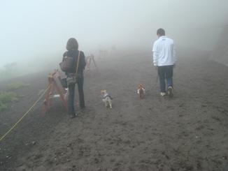 富士山お散歩
