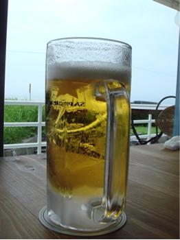 ビールと江ノ島
