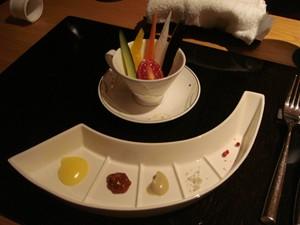 那須のお野菜の前菜