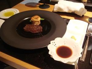 とちぎ和牛のステーキ