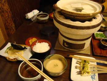 湯豆腐懐石