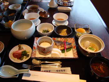 朝食@ウェスティン都ホテル京都