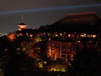 清水寺・ライトアップ