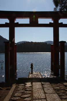 ここあ@芦ノ湖