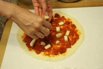 ピザ作り♪
