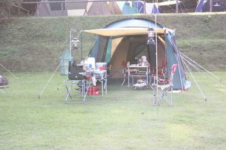キャンプ@富士すそ野
