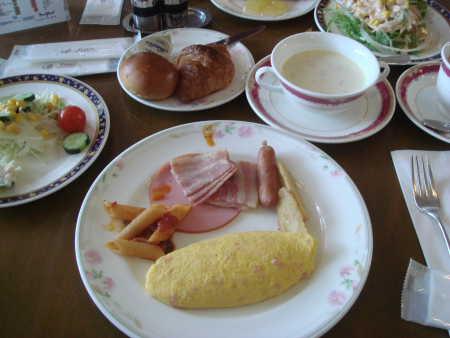豪華な朝食♪