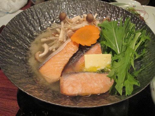 鮭の塩麹鍋