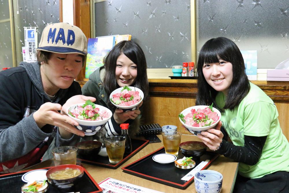 鹿児島産本マグロ脳天 頬肉 カマトロ 美味しいお刺身 新潟県村上市