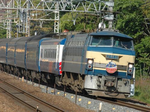 鉄道写真 EF66 なは・あかつき
