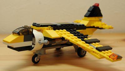 LEGO 垂直離着陸機_R
