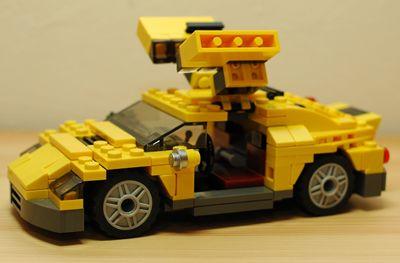 LEGO スポーツカーガルウィング_R