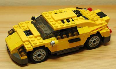 LEGO スポーツカー_R