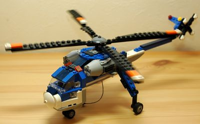 LEGO 大型ヘリコプター 回転翼_R