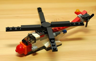 LEGO 小型ヘリコプター_R