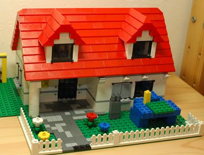 LEGO 赤い家_R