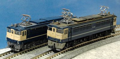 4 古いEF65 1000 TOMIXと_R
