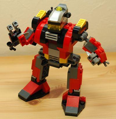 LEGO ロボット_R