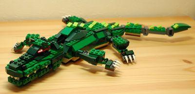 LEGO ワニ_R