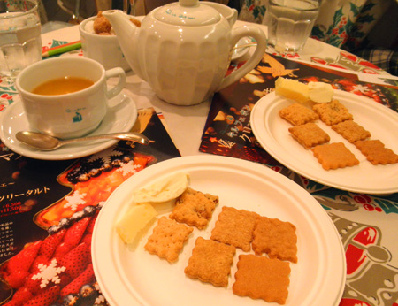 【イベント】キルフェボン2013クリスマス試食会テーブル