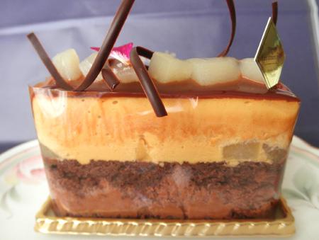 【ケーキ】レザネフォール「キャラメルショコラ」01