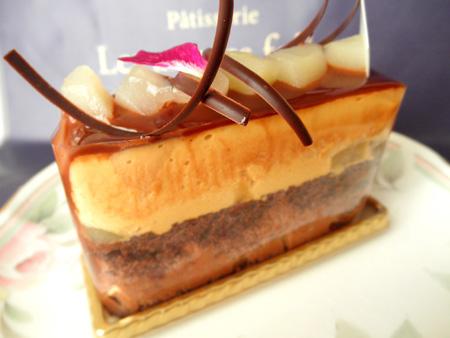 【ケーキ】レザネフォール「キャラメルショコラ」02